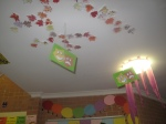 Dramatic Play Area Ceiling