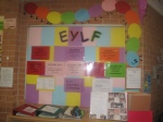 EYLF (Early Years Learning Framework) Display